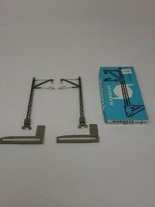 Marklin 7011 HO Catenary Mast For Metal Bridge 7011 Original Box 2 Per Box