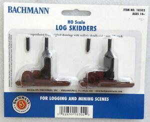Bachmann 18302 LOG SKIDDERS - HO / HOn3