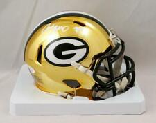 Jace Sternberger Autographed Green Bay Packers Chrome Mini Helmet - JSA W Auth