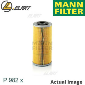 FUEL FILTER FOR FIAT IVECO MAN NEW HOLLAND 90 SERIE 8365 25 503 M SD MANN-FILTER