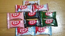 Kit Kat 6flavors from Japan Chocolate Raspberry,Green Tea,Cookie & cream...