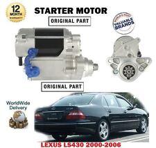 FOR LEXUS LS430 4.3 3UZ-FE 2000-2006 NEW STARTER MOTOR UNIT