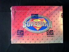 Superman The Man of Steel Platinum Series Factory Sealed Box - Skybox 1994