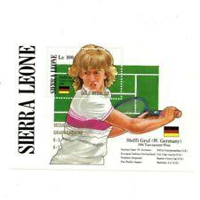 VINTAGE CLASSICS - Sierra Leone 1023 - Graf Olympic Gold - Souvenir Sheet -MNH