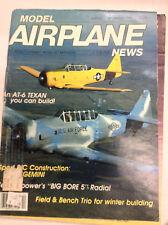 Model Airplane News Magazine AT-6 Texan Big Bore 5 December 1983 041517nonrh