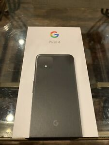 Google Pixel 4 G020J - 64GB - Just Black (Unlocked) (Single SIM)