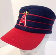 Vintage California Angels Snapback Pillbox Logo Baseball Hat Cap Sportcap