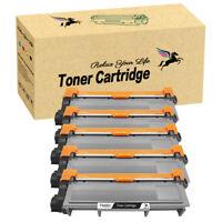 5 PK Black Laser Toner Cartridges TN660 for Brother TN630 MFC-L2700DW HL-L2380DW