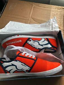 Denver Broncos Football NFL Official Licensed Bradford Exchange Sneaker Shoe 9.5