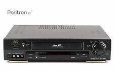 JVC HR-S7611 Super VHS Videoregistratore / Dnr / Tbc / revisionato 1 Anno