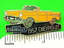 1957 Corvette Pin  Chevrolet Lapel Pin  Hat Tack nicer than picture
