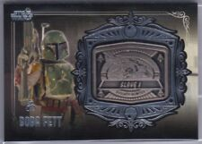 2013 Topps Star Wars Galactic Files Series 2 Medallion Boba Fett MD-7