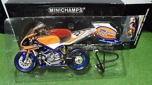 MOTO DUCATI 998 F01 WSB 2002 SUPERBIKE 1/12 Minichamps 122021252 miniature coll.