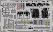 Eduard Zoom ss366 1/72 Hasegawa Israeliano f-16i SUFA
