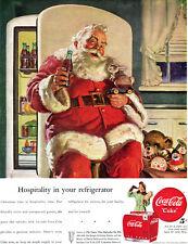Haddon Sundblom School Coca Cola Santa Claus COKE Raggedy Ann TOYS 1947 Print Ad