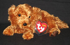 TY FITZ the DOG BEANIE BABY - MINT with NEAR PERFECT TAG - SEE PICS
