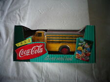 ERTL COKE TOY COCA COLA  COKE DELIVERY TRUCK 1953 FORD DIE-CAST METAL BANK