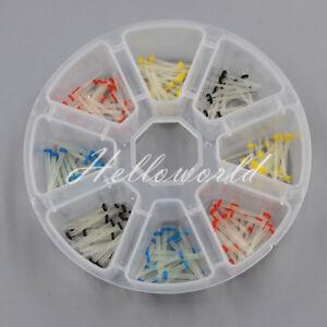 200 Pcs Dental Fiber Post Glass Quartz Teeth Restorative 1.0 1.2 1.4 1.6 1.8mm