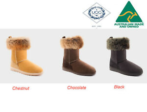 UGG Australia Tidal 3/4 Fox Women Ugg Boots 3-Colour Options RRP $239.00