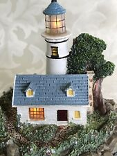 Thomas Kinkade Lighted Lighthouse Seaside Memories A Light in the Storm
