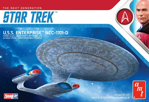 AMT 1:2500 Star Trek U.S.S. Enterprise-D(Sn, #R2AMT1126