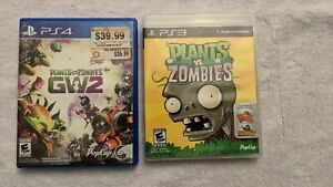 Plants vs. Zombies: Garden Warfare 2 PS4 & Plants vs. Zombies PS3