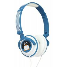 Childrens Doodles Character 85db Limiting Penguin Headphones