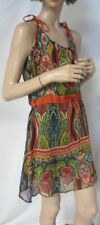 Desigual Spaghetti Strap Sun Dress, Bohemian Quirky Size 38