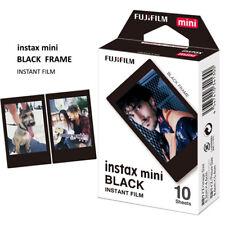 FUJIFILM INSTAX FILM MINI BLACK FRAME 10 FOTO NOVITA' FUJI ITALIA