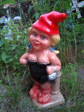 Gartenzwerg Exhibitionist aus bruchfestem PVC Zwerg Made in Germany Figur