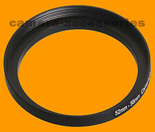 52mm A 58mm 52-58 Stepping intensificar Filtro Anillo Adaptador 52-58mm 52mm-58mm