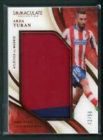 2020 ARDA TURAN 42/50 JERSEY PATCH PANINI IMMACULATE COLLECTION