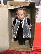 Zwergnase Vinyl Puppe Nicole 33 cm. Top Zustand.