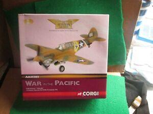 "CORGI AVIATION AA35203 P-40E WARHAWK ""WHITE 86"" 1942 (1:72 SCALE) LOT J47"