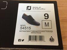 FootJoy FJ Golf Casual Spikeless Black Golf Shoes # 54515 - 9 Medium - New