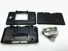 Nintendo DS Fat Original Full Replacement Housing Shell Screen Lens Black US!