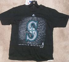 NEW MLB Seattle Mariners T Shirt Youth Boys S Small 8 Majestic NEW NWT