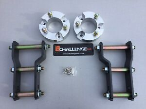 """2"""" Lift Kit Front Spacers Rear Shackles 05-15 to fit Mitsubishi L200"""