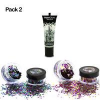 3 Pack Bio degradable Chunky Glitter (Vegan) cosmetic glitters biodegradable
