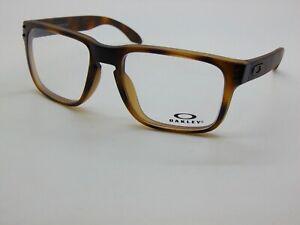 OAKLEY HOLBROOK RX OX8156-0254 Matte Brown Tortoise 54mm Authentic Eyeglasses