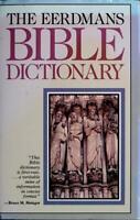 Eerdmans' Bible Dictionary Hardcover Allen C. Myers