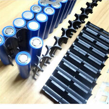 2Pcs 10x Cell Plastic Spacer Holder Case 18650 Battery Cylindrical Cell Bracket