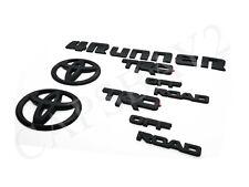 2014-2019 4runner TRD off Road Black Overlay Bundle Kit for Toyota 4 Runner