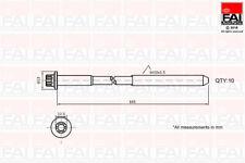 Head Bolt (Box Of 10) To Fit Mercedes-Benz C-Class (W203) C 180 Kompressor