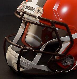 CLEVELAND BROWNS NFL Riddell Speed Football Helmet Facemask (Odell Beckham Jr.)
