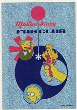 figurina THE SIMPSONS PANINI ANNO 1999 NUMERO 25 NEW