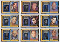 Star Trek Deep Space Nine Complete Gallery Chase Card Set G1-10  SET OF 10 CARDS