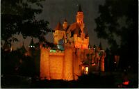 Vtg 1960s Disneyland Postcard Sleeping Beauty's Castle 1-324 Unposted