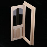 Miniature Wooden Picture Frame wi Oval Mat #G2 Plain Unpainted Handcrafted