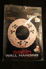 Titan Needlecraft Dove Wreath Kit 1984 Nip